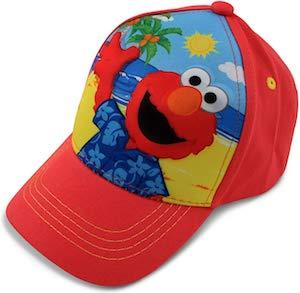 Sesame Street Kids Elmo On The Beach Cap