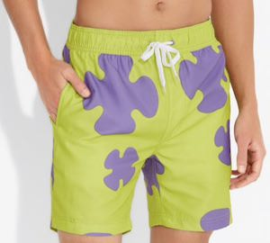 Patrick Star Swim Trunks