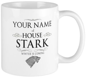 Personalized House Stark Mug
