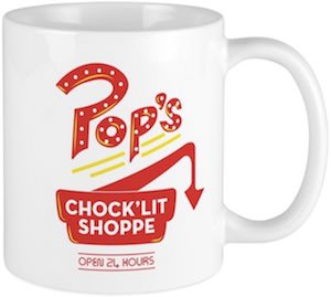 Riverdale Pop's Chock'Lit Shoppe Mug