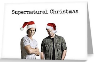 Supernatural Christmas Card