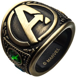 Marvel Avengers End Game Ring