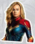 Captain Marvel Sticker