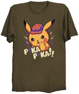Detective Pikachu T-Shirt