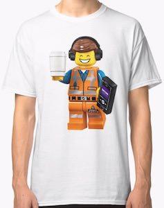 The Lego Movie Emmet Being Amazing T-Shirt