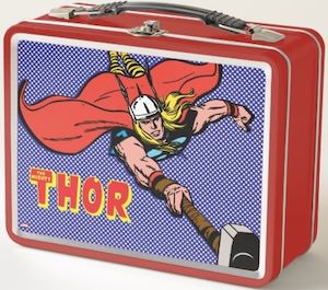 Metal Thor Lunch Box