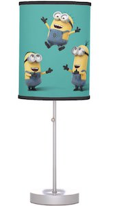Minions Having Fun Lamp