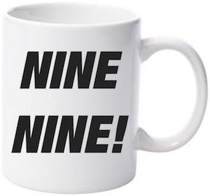 Nine Nine Mug