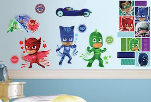 PJ Masks Wall Decal