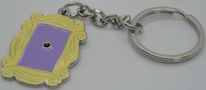 Peephole Frame Key Chain