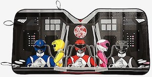 Power Rangers Car Sun Shade