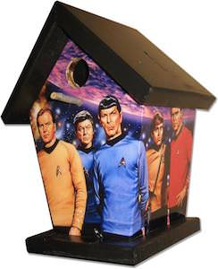 Star Trek Birdhouse