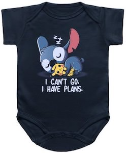 Stitch Has Plans Baby Bodysuit