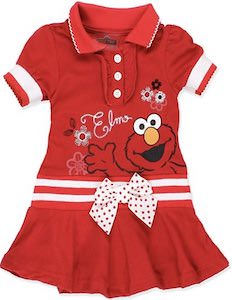 Toddler Elmo Dress