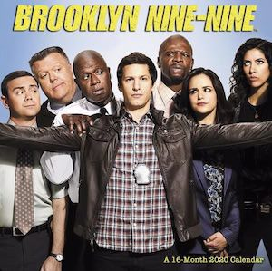 2020 Brooklyn Nine-Nine Wall Calendar