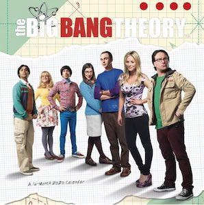 2020 The Big Bang Theory Wall Calendar