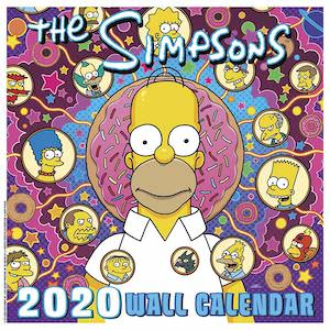 2020 The Simpsons Wall Calendar