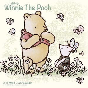 2020 Winnie the Pooh Wall Calendar