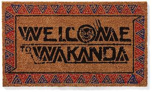 Black Panther Doormat