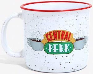 Enamel Central Perk Mug