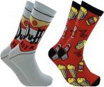 The Simpsons Duff Beer Socks