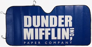 The Office Dunder Mifflin Car Sun Shade