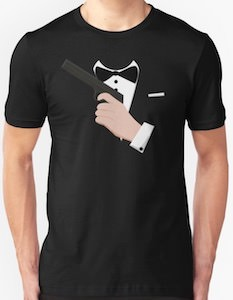 James Bond Costume T-Shirt