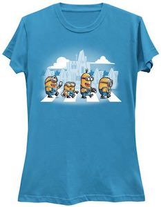 Despicable Me Minions At A Crosswalk T-Shirt