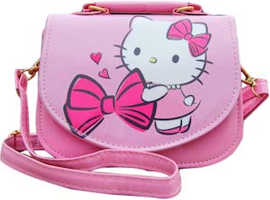 Pink Hello Kitty Shoulder Bag