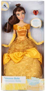 Disney Princess Belle Doll With Ring