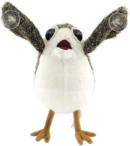 Star Wars Porg Suction Cup Window Plush