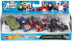 Avengers Hot Wheels 5 Pack
