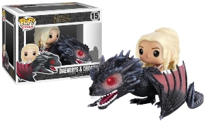 Funko POP Dragon And Daenerys Figurine