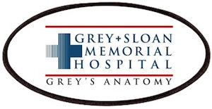 Grey Sloan Memorial Hospital Clothing Patch