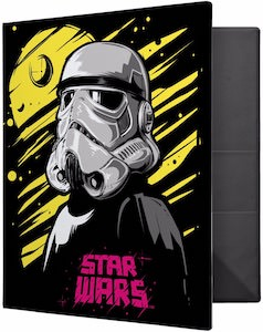 Death Star And Stormtrooper Binder