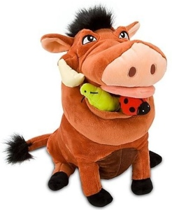 The Lion King Pumbaa 14 inch Plush