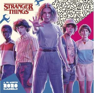 2020 Stranger Things Wall Calendar