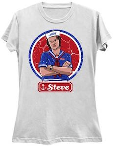 Stranger Things Ahoy Steve T-Shirt