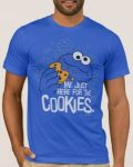 Cookie Monster Here For Cookies T-Shirt