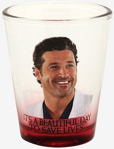 Grey's Anatomy Derek Glass