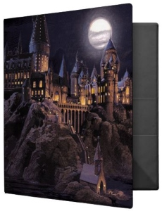Harry Potter Hogwarts Castle Binder