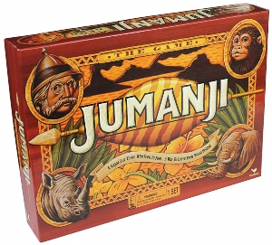 Jumanji Action Boardgame