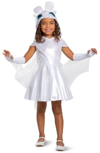 Light Fury Child Costume