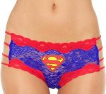 Supergirl or Superman Lace String Panties