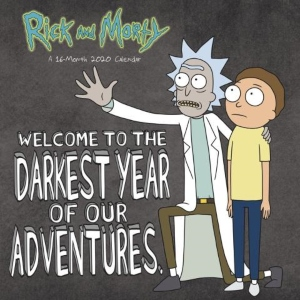 2020 Rick And Morty Wall Calendar