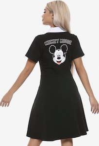 Disney Black Mickey Mouse Dress