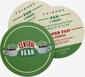 Friends Central Perk Coaster Trivia