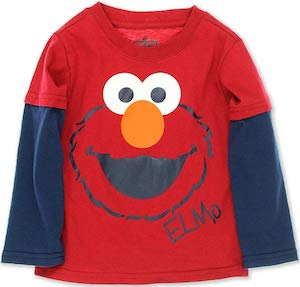Elmo Long Sleeve Toddler Shirt