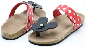 Minnie Mouse Flip Flop Sandals