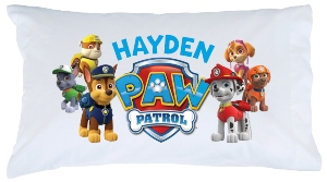 Paw Patrol Personalized Pillowcase